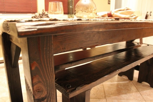 Medieval Collection - rustic - dining benches - houston - by Old