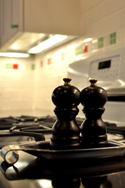 White 'Country' Kitchen traditional-kitchen
