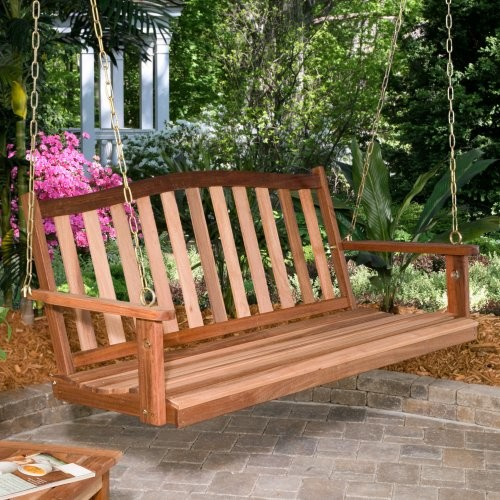 Rainbow Arts Richmond Porch Swing traditional-kids-playsets-and-swing-sets