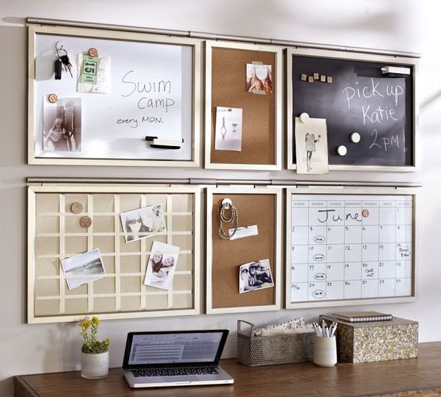 Daily system stainless steel finish contemporary for Bulletin board ideas for kitchen