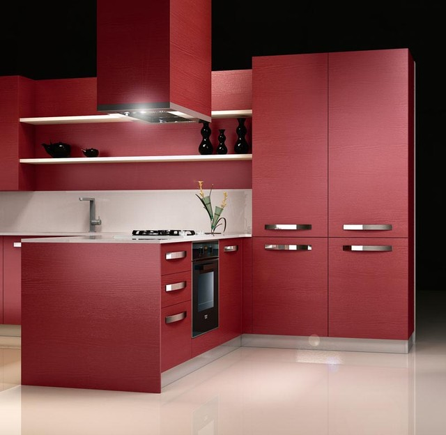 red laminate kitchen design ideas iride frassino 3 jpg