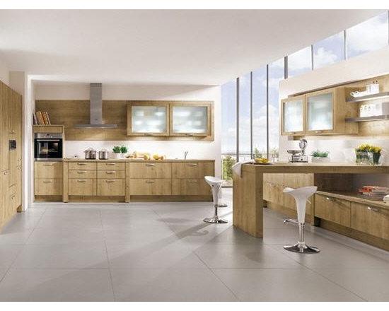 Oak wood Kitchen -