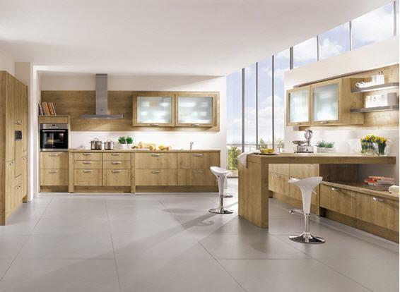 Oak Wood Kitchen