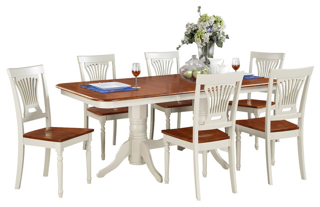 7 Pc Dining Set Dining Table And 6 Dining Chairs For  : traditional dining sets from www.houzz.com size 640 x 414 jpeg 58kB