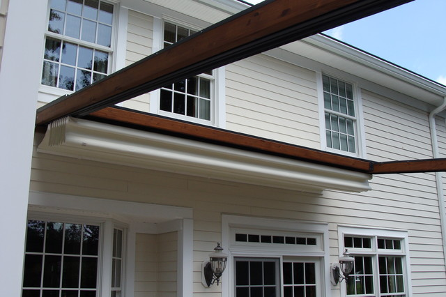 Private Residence, Northern NJ - Retractable Pergola Awning - Traditional - new york - by KE ...