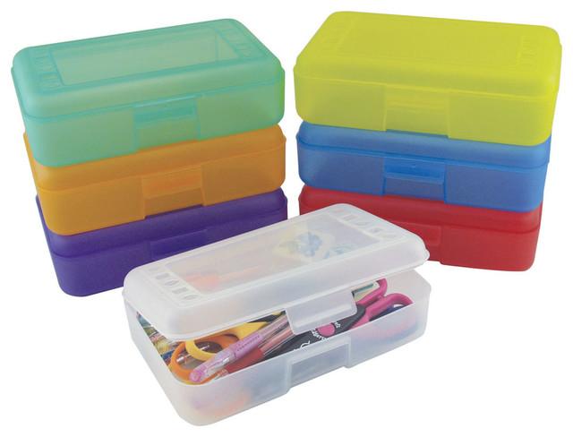 Minnie Mouse Bedroom 3 Drawer Storage Kids Wooden Box Pink: Ecr4Kids Preschool Stationery Plastic Pencil Pen Case