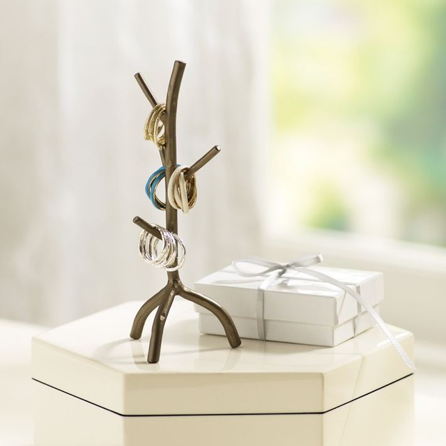 Branch-Out Ring Holder - Modern - Bathroom Accessories - by PBteen