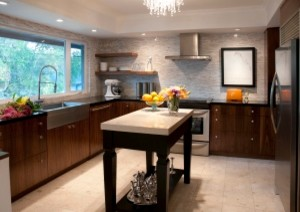 Kitchens with Floating Shelves contemporary-kitchen