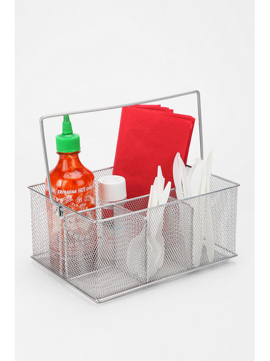 Mesh Condiment Caddy - Urban Outfitters -