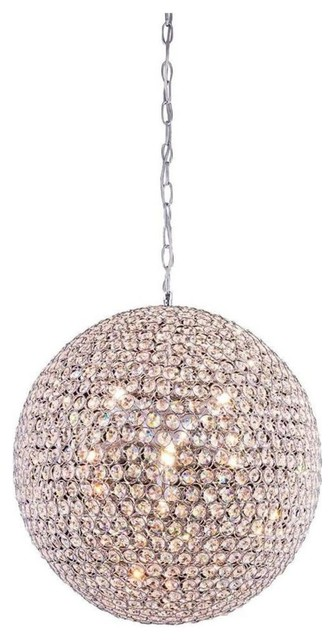 Modern Crystal Chandelier Round Ball