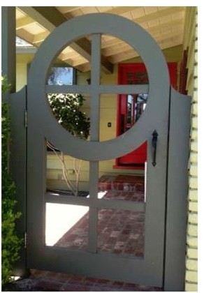 custom gates modern outdoor products