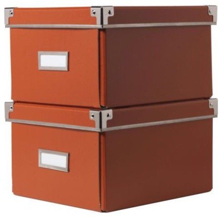 Kassett Dvd Box With Lid Contemporary Storage Bins And