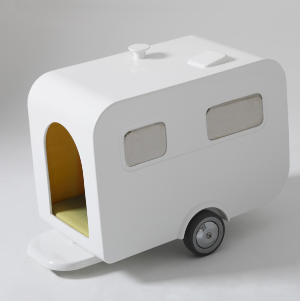 Luxury Caravan Doghouse eclectic pet accessories