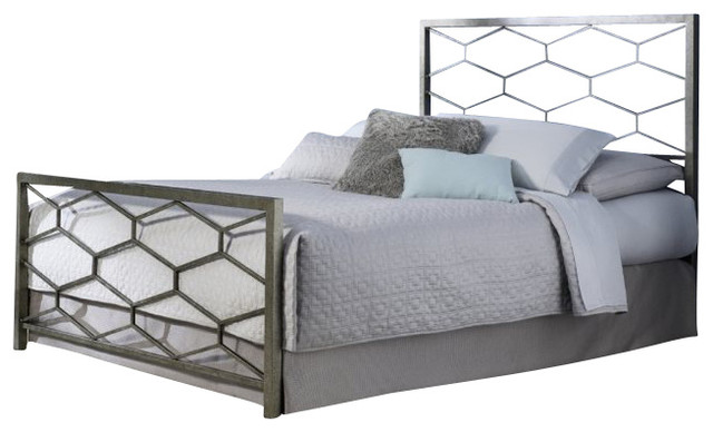 Fashion Bed Camden Bed in Golden Frost-King size modern-beds