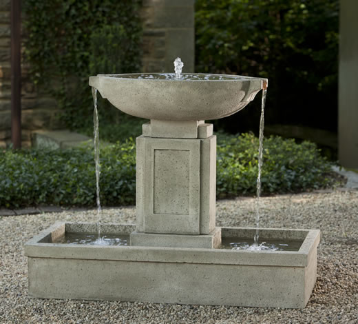 Fountains For Backyard Ponds : Austin Outdoor Water Fountain  Outdoor Fountains And Ponds  portland