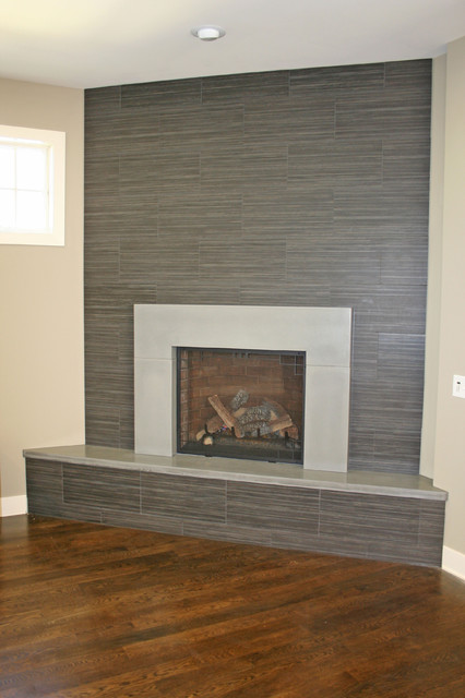 Concrete Fireplaces Modern Fireplaces