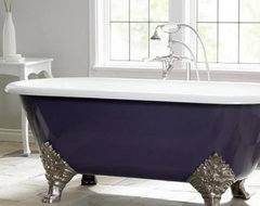 Cheviot Carlton 72 in. Classic Cast Iron Clawfoot Tub traditional bathtubs