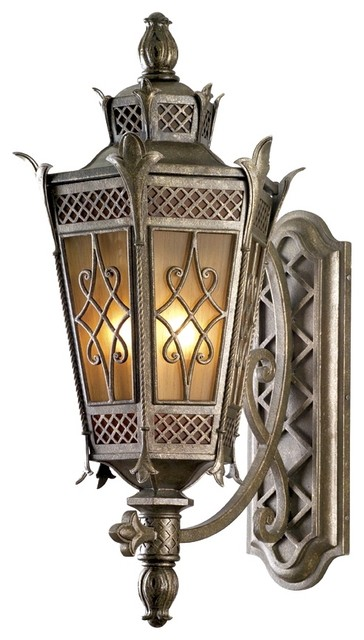 "La Avenio 32 1/2"" High Outdoor Wall Light traditional outdoor lighting"