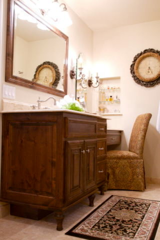 Posey traditional bathroom