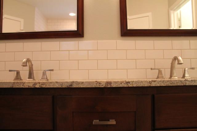Budget Driven Bathroom contemporary-bathroom
