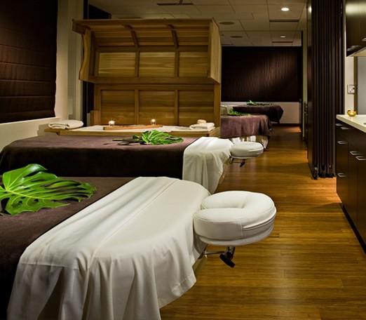 Vida wellness spa - Decoration table salon ...
