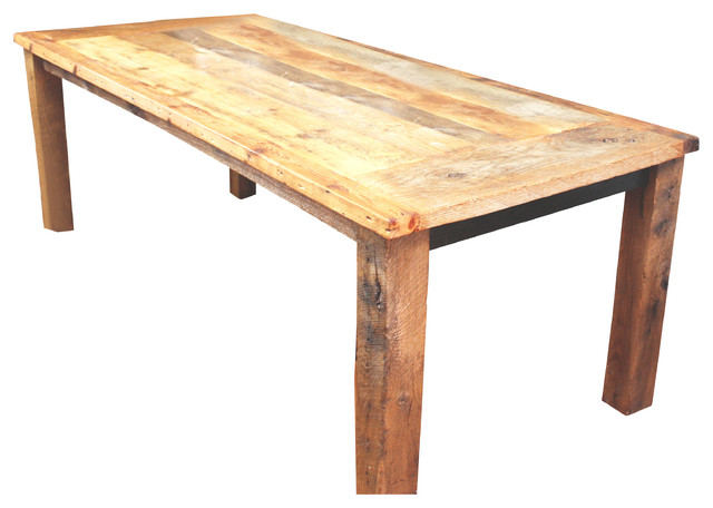 reclaimed wood dinning table rustic-dining-tables