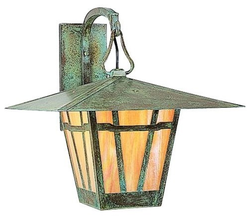 Westmoreland outdoor wall sconce by arroyo craftsman for Modern craftsman lighting