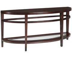 Studio Console Table contemporary side tables and accent tables