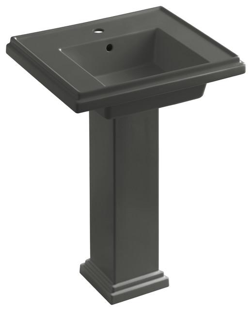 Tresham Pedestal Sink : KOHLER K-2844-1-58 Tresham 24