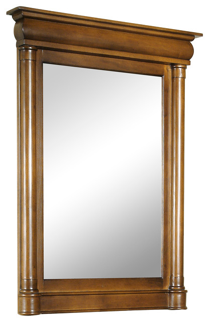 2224 john adams small vanity mirror traditional bathroom mirrors