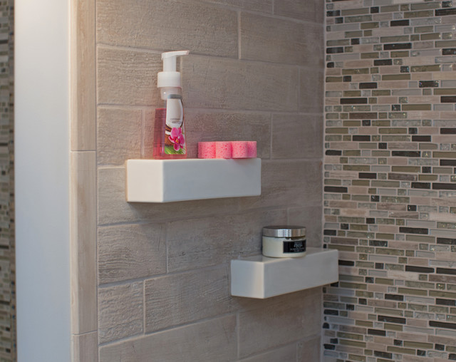 Bathroom niche shelf store modern dc metro by bathroom tile shower shelves Bathroom tile stores