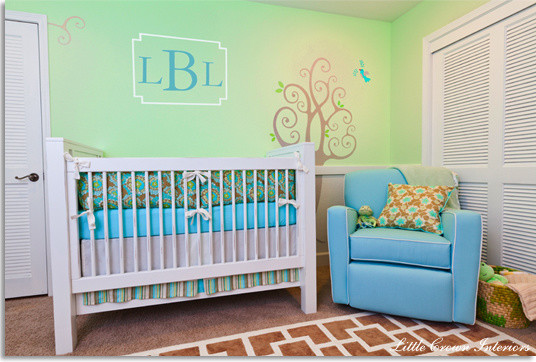 Eclectic, Gender Neutral Nursery eclectic kids