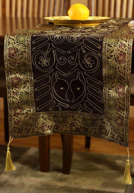 Elegant Table Runners asian-tablecloths