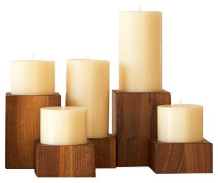 Arroyo Candle Blocks contemporary candles and candle holders