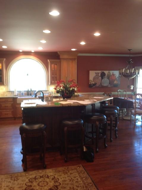 Adam Sanders / Lowes Canton, Ga traditional-kitchen