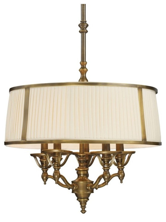 Williamsport 5-Light Chandelier In Vintage Brass Patina by Elk Lighting - StudioLX