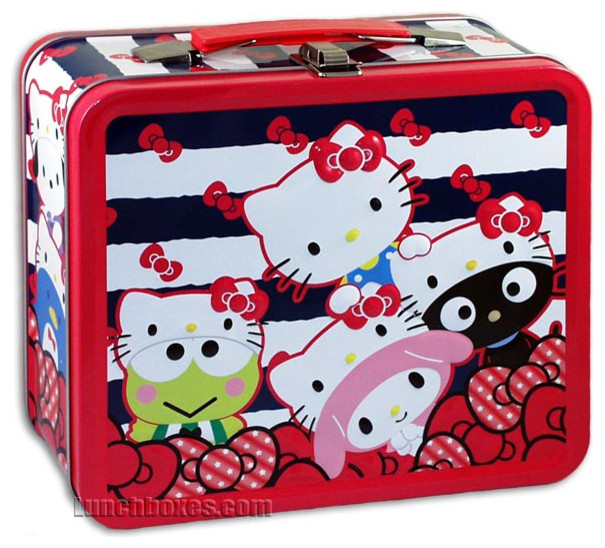 Hello Kitty Lunch Box eclectic food containers and storage