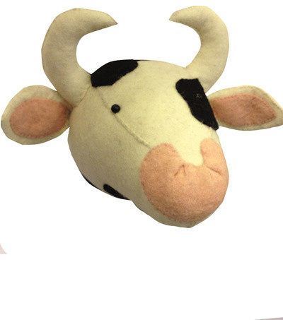 Cow Head - Craftsman - Kids Decor - new york - by EFL Sales Co LLC