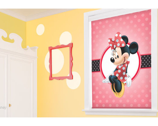 Minnie Mouse Window Shades -