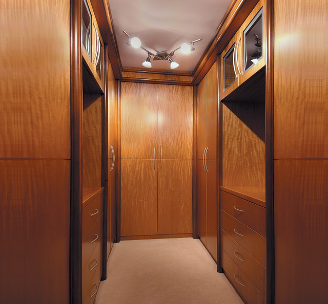 The Executive Closet modern-storage-and-organization