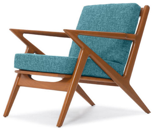 Chair lucky turquoise contemporary armchairs and accent chairs