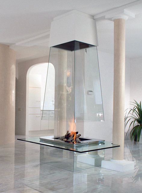 FIREPLACES modern-indoor-fireplaces