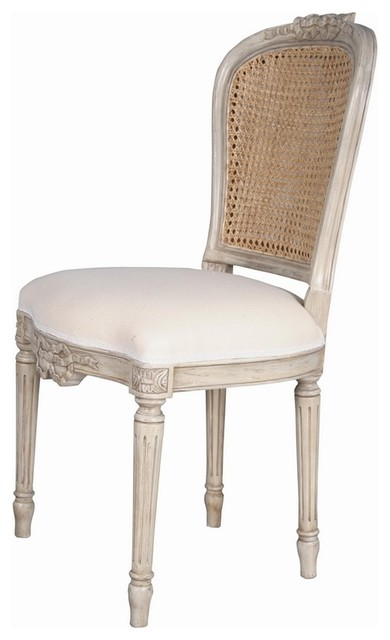 Cane Dining Chair Colefax Ribbon French traditional-dining-chairs