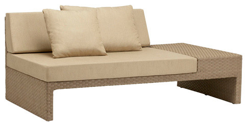 Right Arm Sectional, Loose Cushions and Pillows contemporary-patio-furniture-and-outdoor-furniture