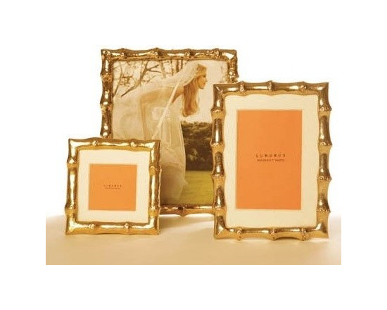 Bamboo Frames in Gold -