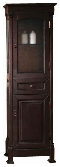 bates linen cabinet (mahogany) - Transitional - Bathroom Storage - by Thos. Baker