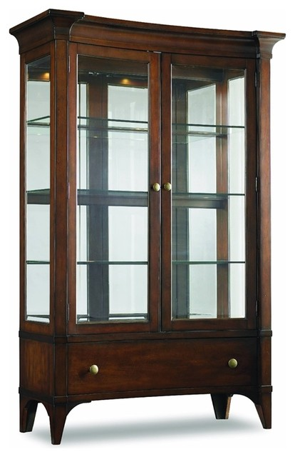 Abbott Place China Cabinet - Transitional - China Cabinets And Hutches - by Masins Furniture
