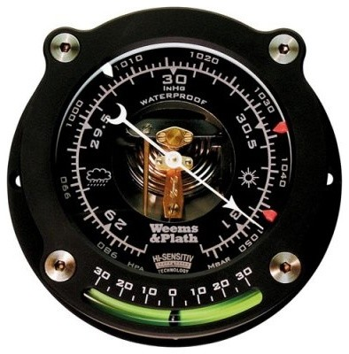 Weems and Plath Nautilus High Sensitivity Barometer with Inclinometer modern-outdoor-lounge-chairs