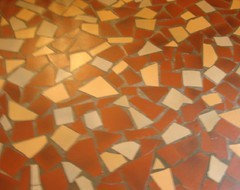 Quarry tile in kitchen Will it work