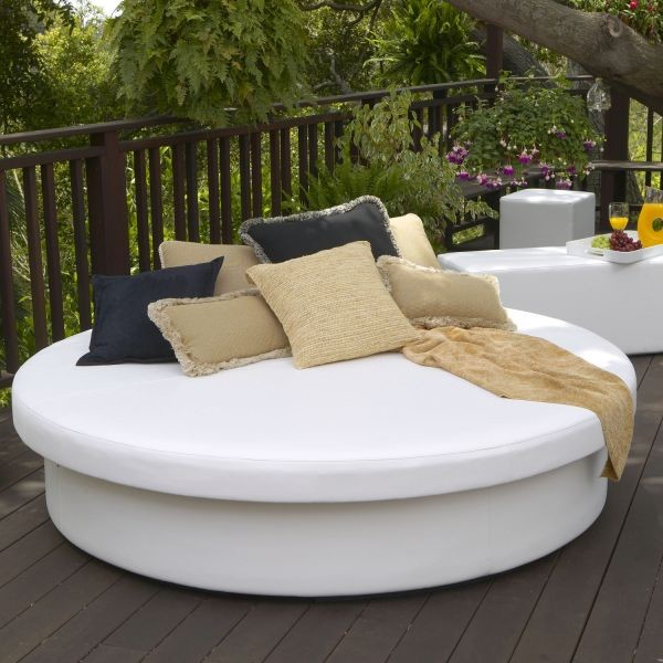 Sun Pad Outdoor Daybed Outdoor Chaise Lounges Los